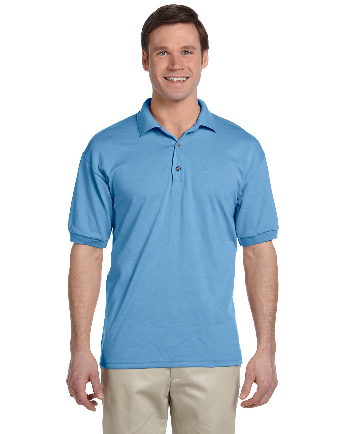 New gildan men 39 s dryblend moisture wicking jersey polo for Men s polyester polo shirts
