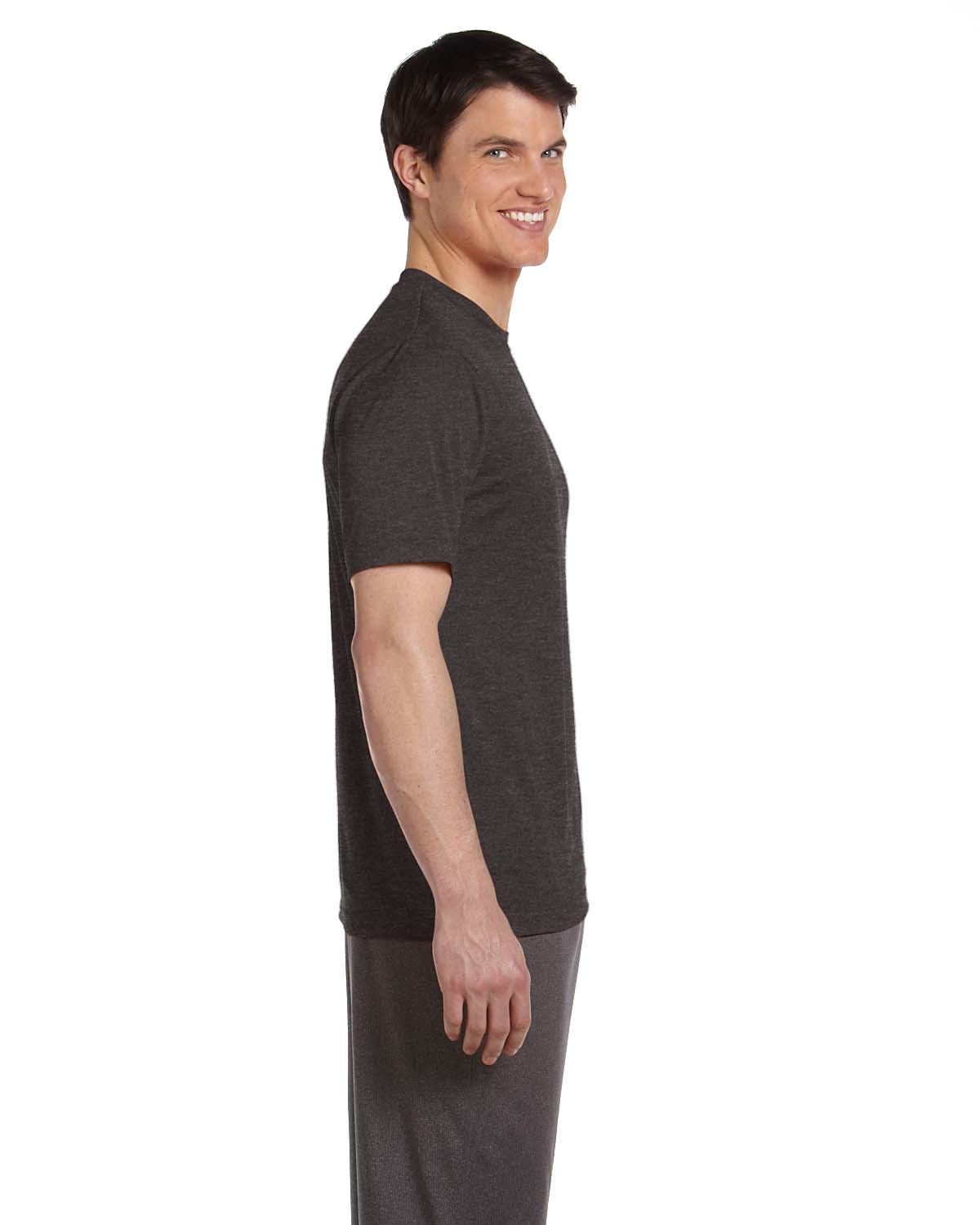 ALL Sport Men/'s Performance Dry-Fit Wicking 100/% Polyester S-XL T-Shirt R-M1009