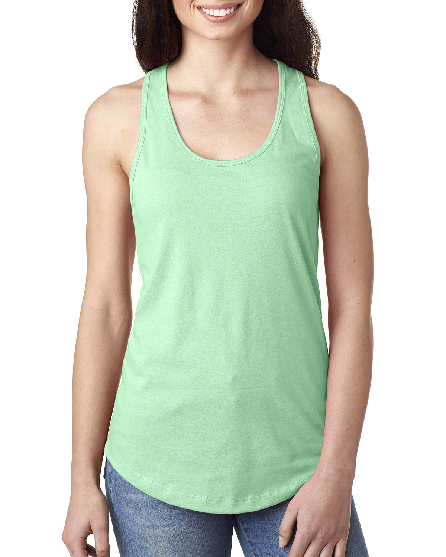 Tank Top Fashion Model New Tip Tumblr Girl Tumblr: Next Level Women's Ideal Racerback Premium Quality Tank
