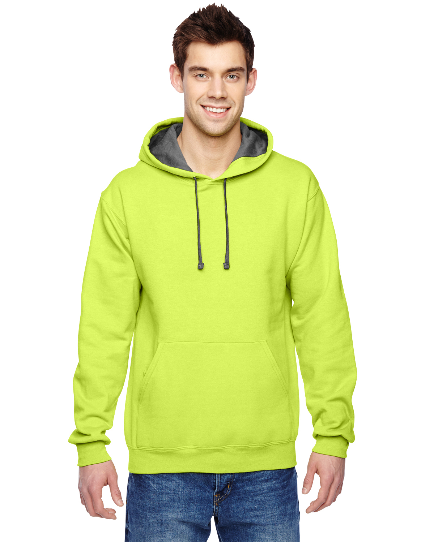 fruit of the loom 7 2 oz sofspun pullover hooded sweatshirt r sf76r ebay. Black Bedroom Furniture Sets. Home Design Ideas
