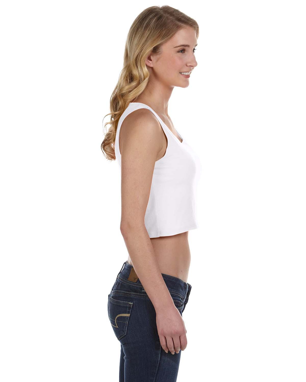 0c2896b85a393 NEW Bella Canvas Women s Poly Cotton Crop Tank M-6680