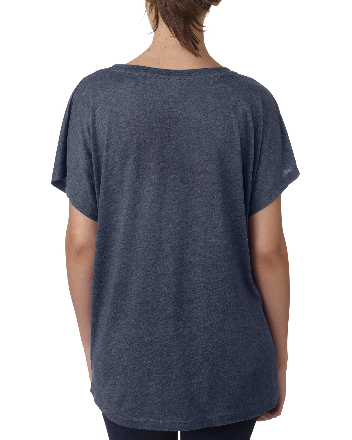 NEW-Next-Level-Junior-Fit-Triblend-Dolman-Sleeve-Relexed-Fit-T-Shirt-B-6760 thumbnail 9