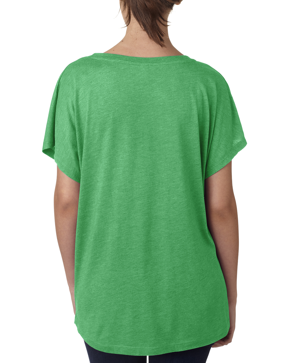 NEW-Next-Level-Junior-Fit-Triblend-Dolman-Sleeve-Relexed-Fit-T-Shirt-B-6760 thumbnail 3