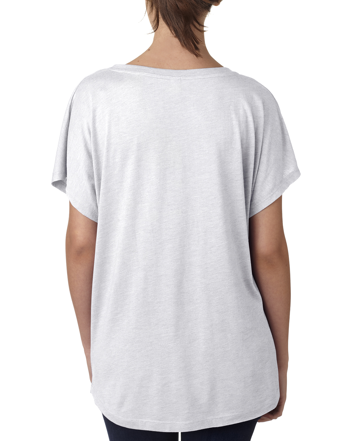 NEW-Next-Level-Junior-Fit-Triblend-Dolman-Sleeve-Relexed-Fit-T-Shirt-B-6760 thumbnail 6
