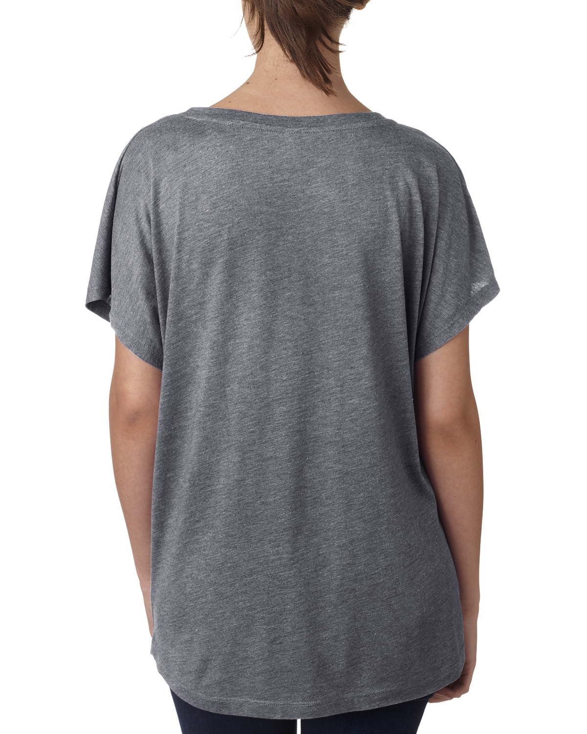 NEW-Next-Level-Junior-Fit-Triblend-Dolman-Sleeve-Relexed-Fit-T-Shirt-B-6760 thumbnail 15