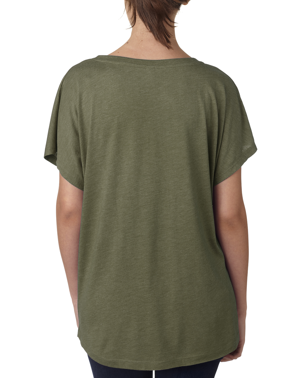 NEW-Next-Level-Junior-Fit-Triblend-Dolman-Sleeve-Relexed-Fit-T-Shirt-B-6760 thumbnail 12