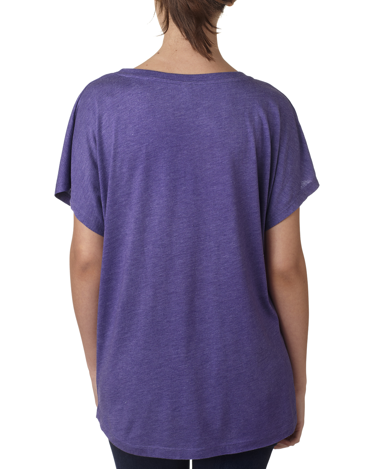 NEW-Next-Level-Junior-Fit-Triblend-Dolman-Sleeve-Relexed-Fit-T-Shirt-B-6760 thumbnail 18
