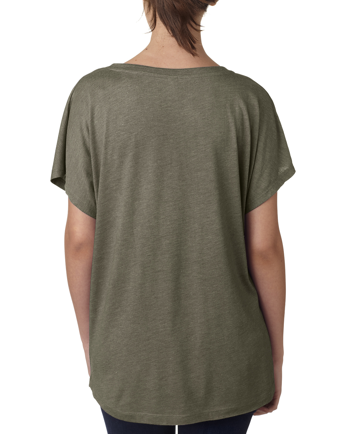 NEW-Next-Level-Junior-Fit-Triblend-Dolman-Sleeve-Relexed-Fit-T-Shirt-B-6760 thumbnail 21