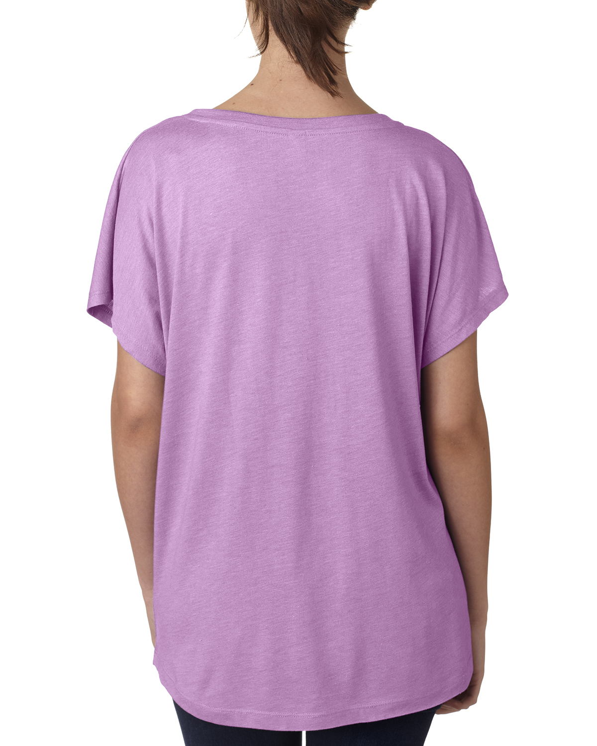 NEW-Next-Level-Junior-Fit-Triblend-Dolman-Sleeve-Relexed-Fit-T-Shirt-B-6760 thumbnail 30