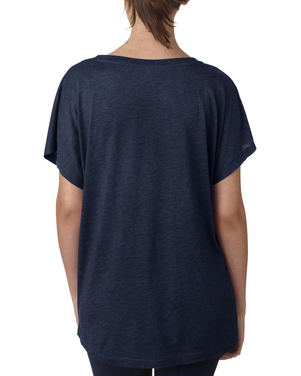 NEW-Next-Level-Junior-Fit-Triblend-Dolman-Sleeve-Relexed-Fit-T-Shirt-B-6760 thumbnail 33