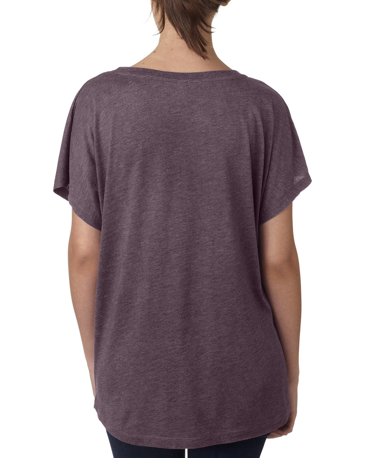 NEW-Next-Level-Junior-Fit-Triblend-Dolman-Sleeve-Relexed-Fit-T-Shirt-B-6760 thumbnail 36