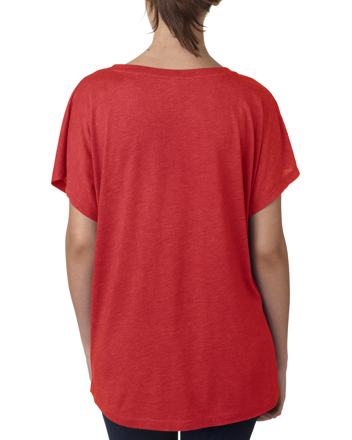 NEW-Next-Level-Junior-Fit-Triblend-Dolman-Sleeve-Relexed-Fit-T-Shirt-B-6760 thumbnail 39