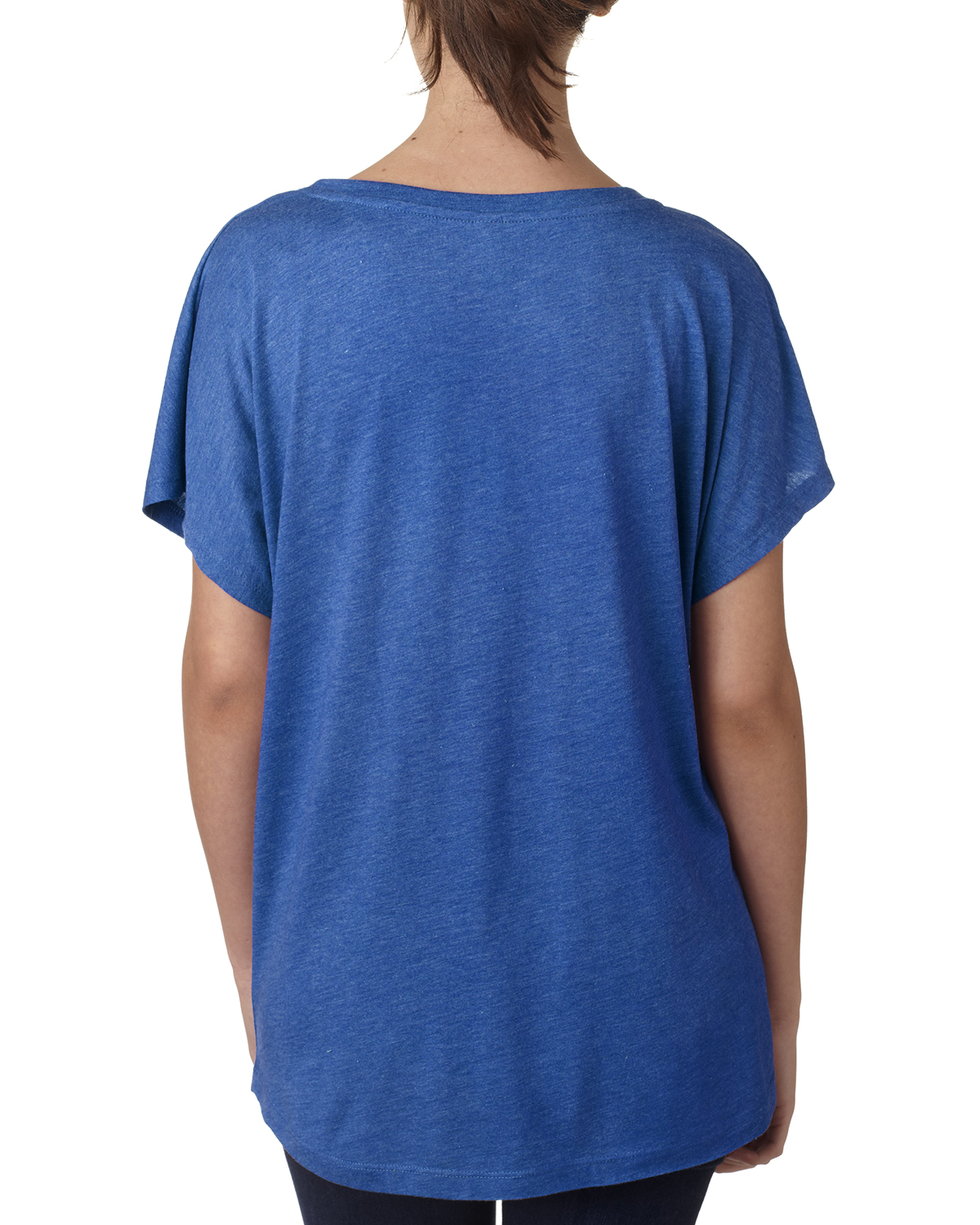 NEW-Next-Level-Junior-Fit-Triblend-Dolman-Sleeve-Relexed-Fit-T-Shirt-B-6760 thumbnail 42