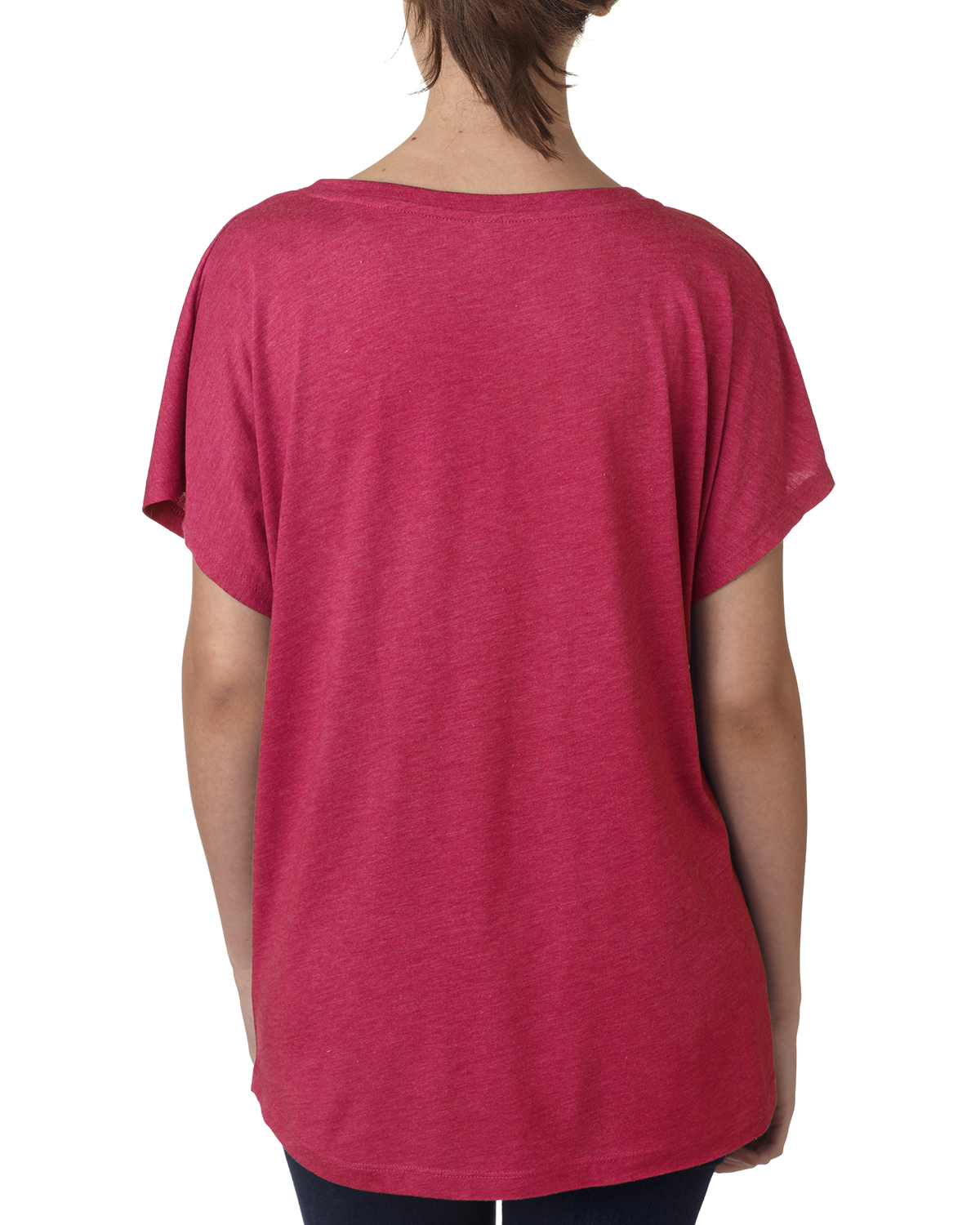NEW-Next-Level-Junior-Fit-Triblend-Dolman-Sleeve-Relexed-Fit-T-Shirt-B-6760 thumbnail 45