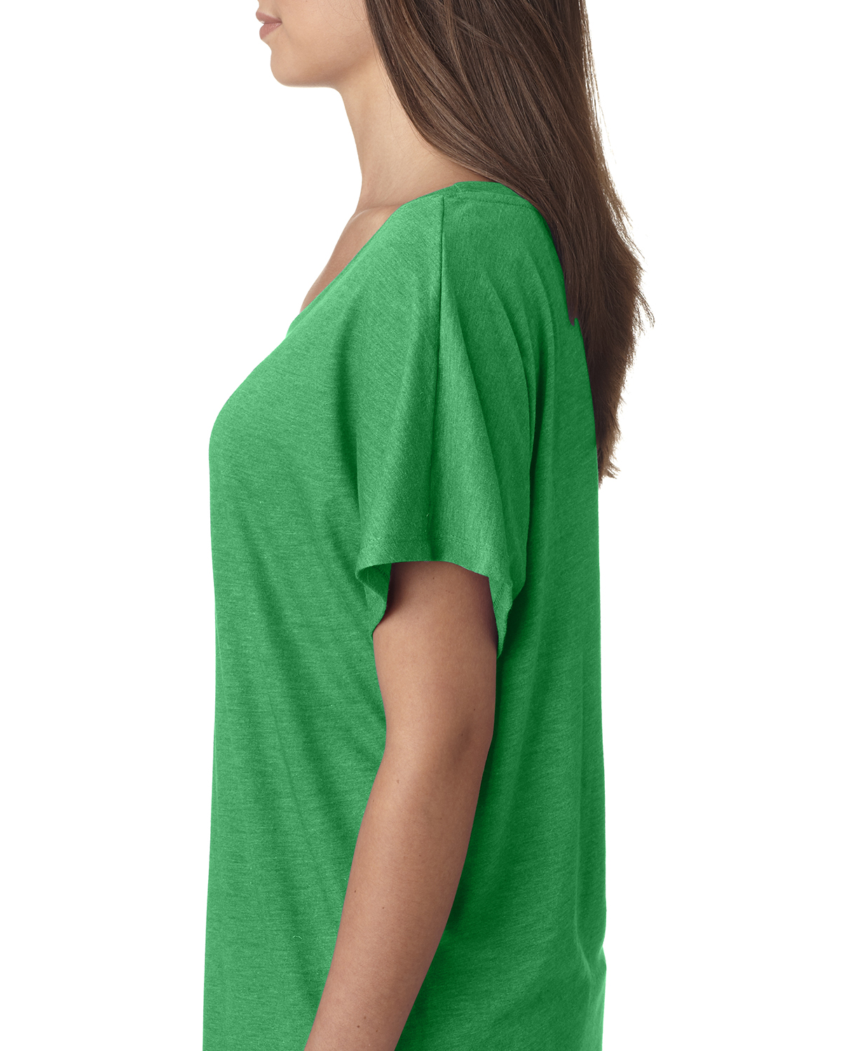 NEW-Next-Level-Junior-Fit-Triblend-Dolman-Sleeve-Relexed-Fit-T-Shirt-B-6760 thumbnail 4