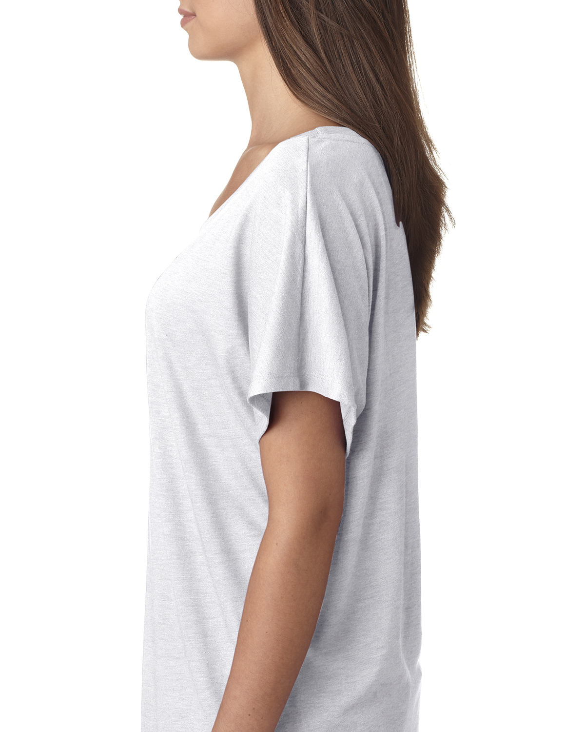 NEW-Next-Level-Junior-Fit-Triblend-Dolman-Sleeve-Relexed-Fit-T-Shirt-B-6760 thumbnail 7