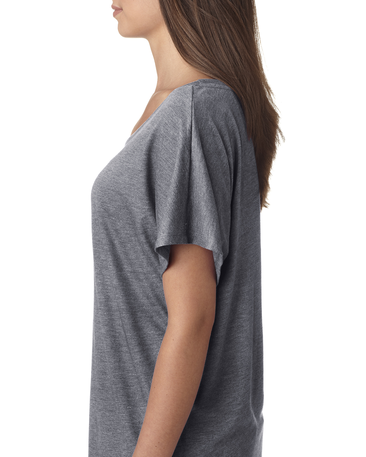 NEW-Next-Level-Junior-Fit-Triblend-Dolman-Sleeve-Relexed-Fit-T-Shirt-B-6760 thumbnail 16