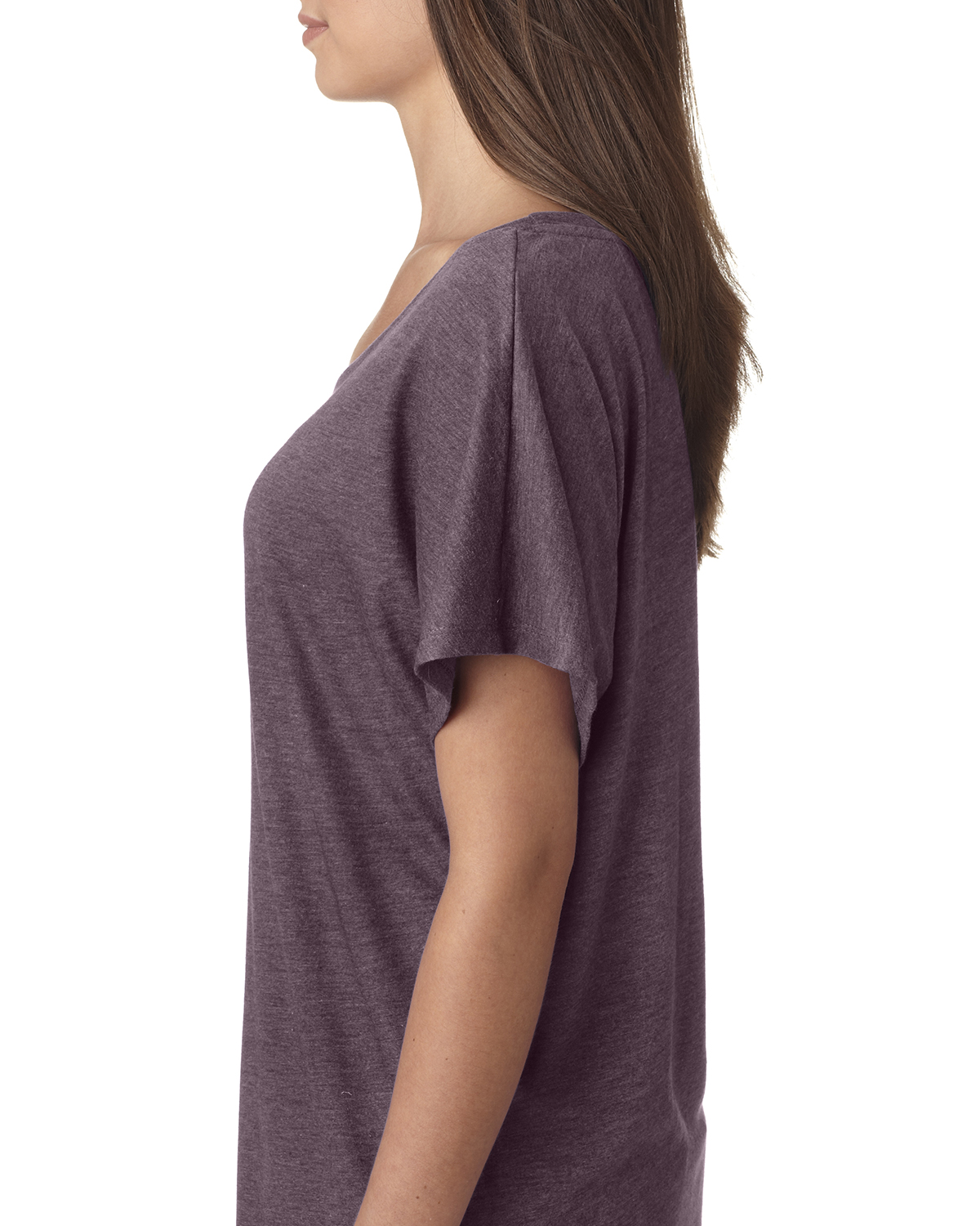 NEW-Next-Level-Junior-Fit-Triblend-Dolman-Sleeve-Relexed-Fit-T-Shirt-B-6760 thumbnail 37