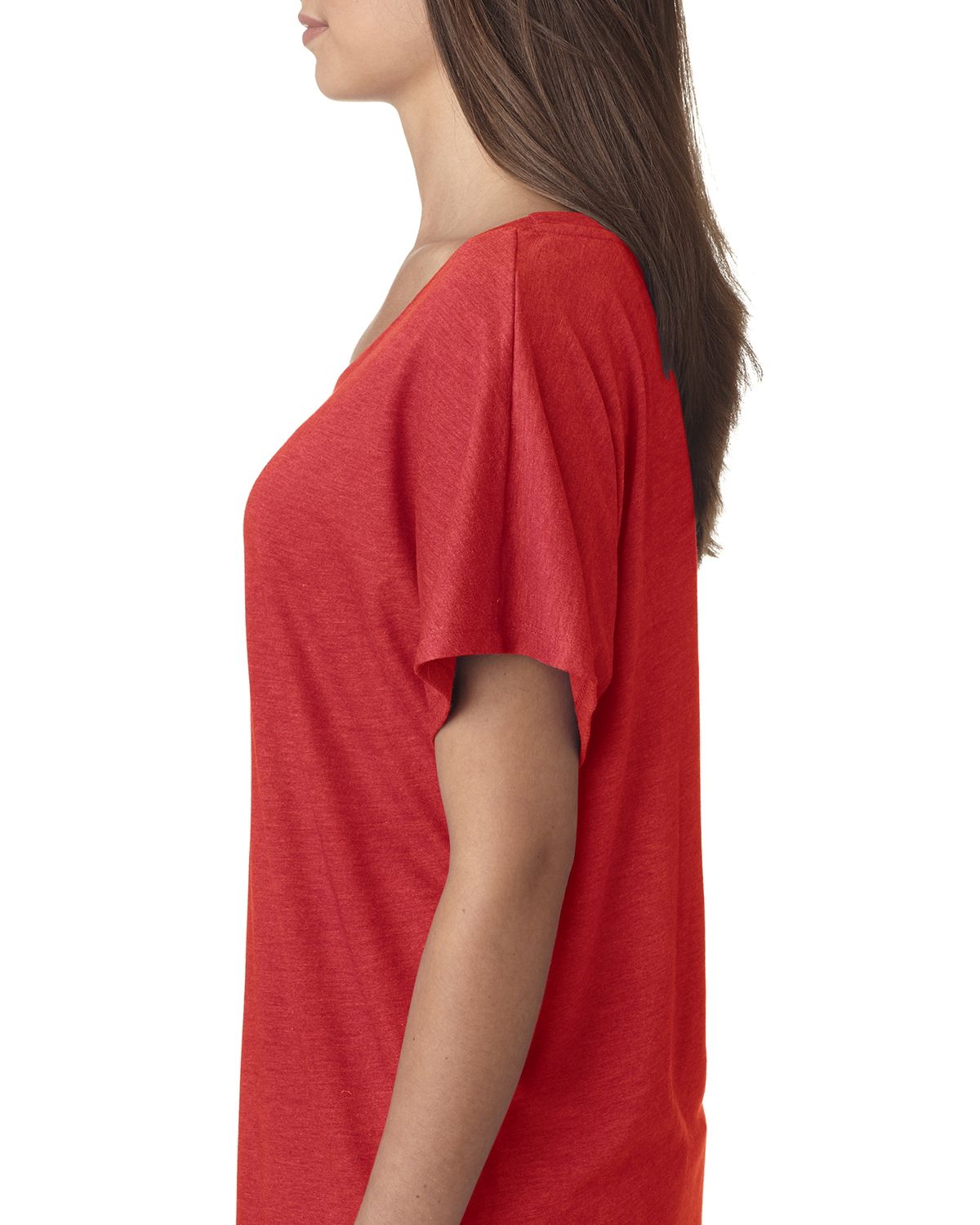 NEW-Next-Level-Junior-Fit-Triblend-Dolman-Sleeve-Relexed-Fit-T-Shirt-B-6760 thumbnail 40