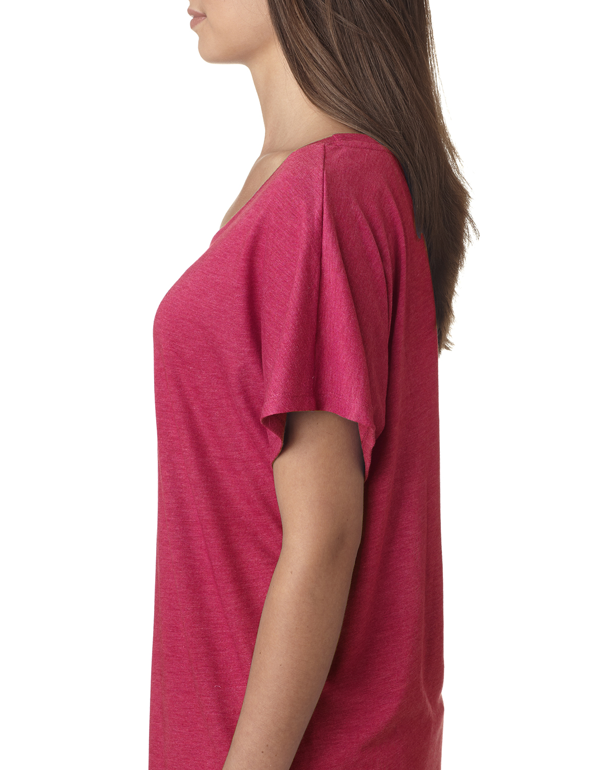 NEW-Next-Level-Junior-Fit-Triblend-Dolman-Sleeve-Relexed-Fit-T-Shirt-B-6760 thumbnail 46