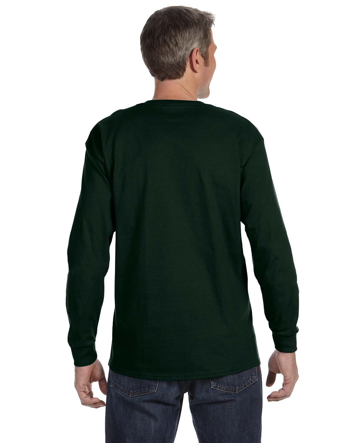 Gildan-Mens-T-Shirt-Long-Sleeve-Heavy-Cotton-5-3-oz-S-XL-R-G540-5400 thumbnail 17