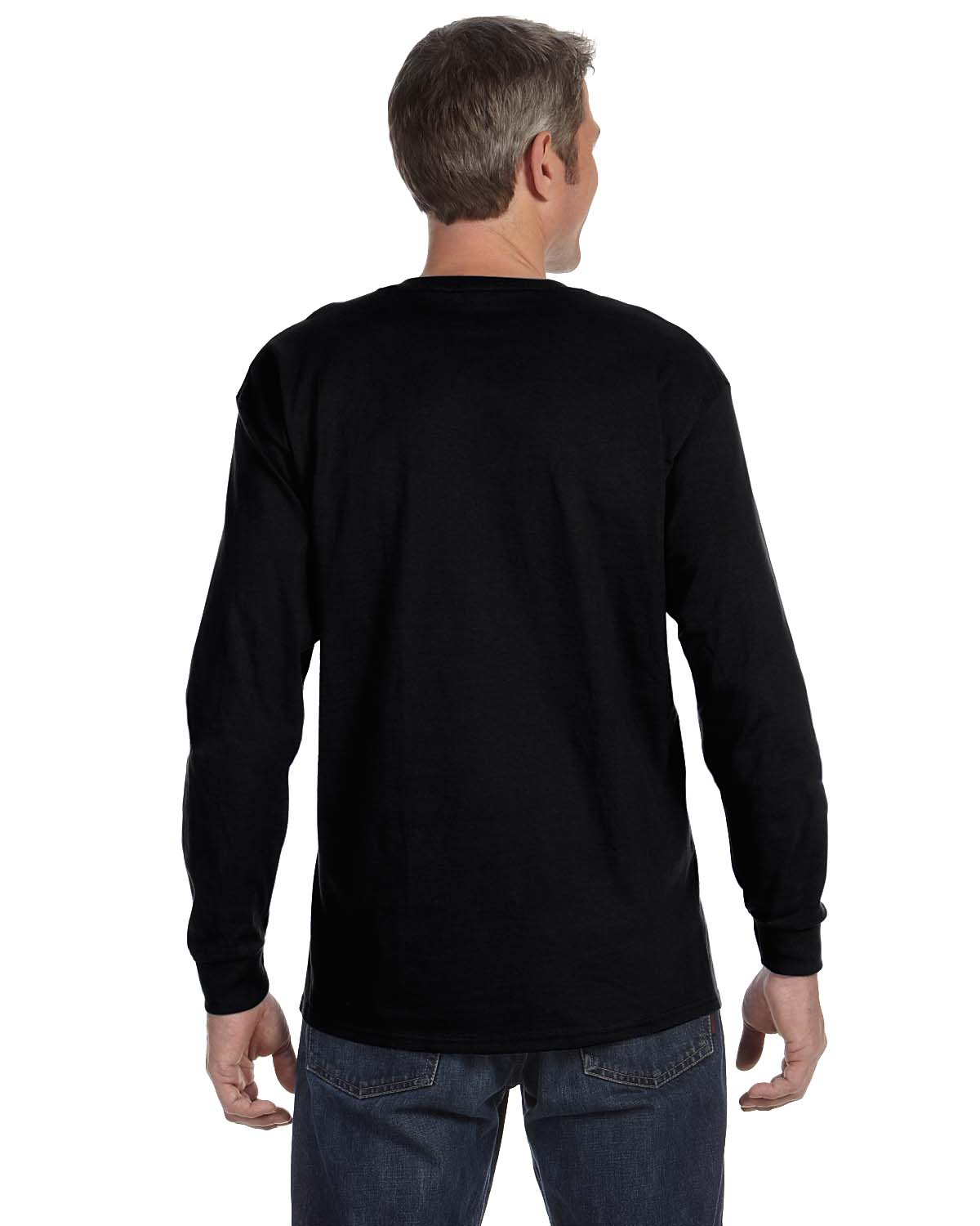 Gildan-Mens-T-Shirt-Long-Sleeve-Heavy-Cotton-5-3-oz-S-XL-R-G540-5400 thumbnail 8