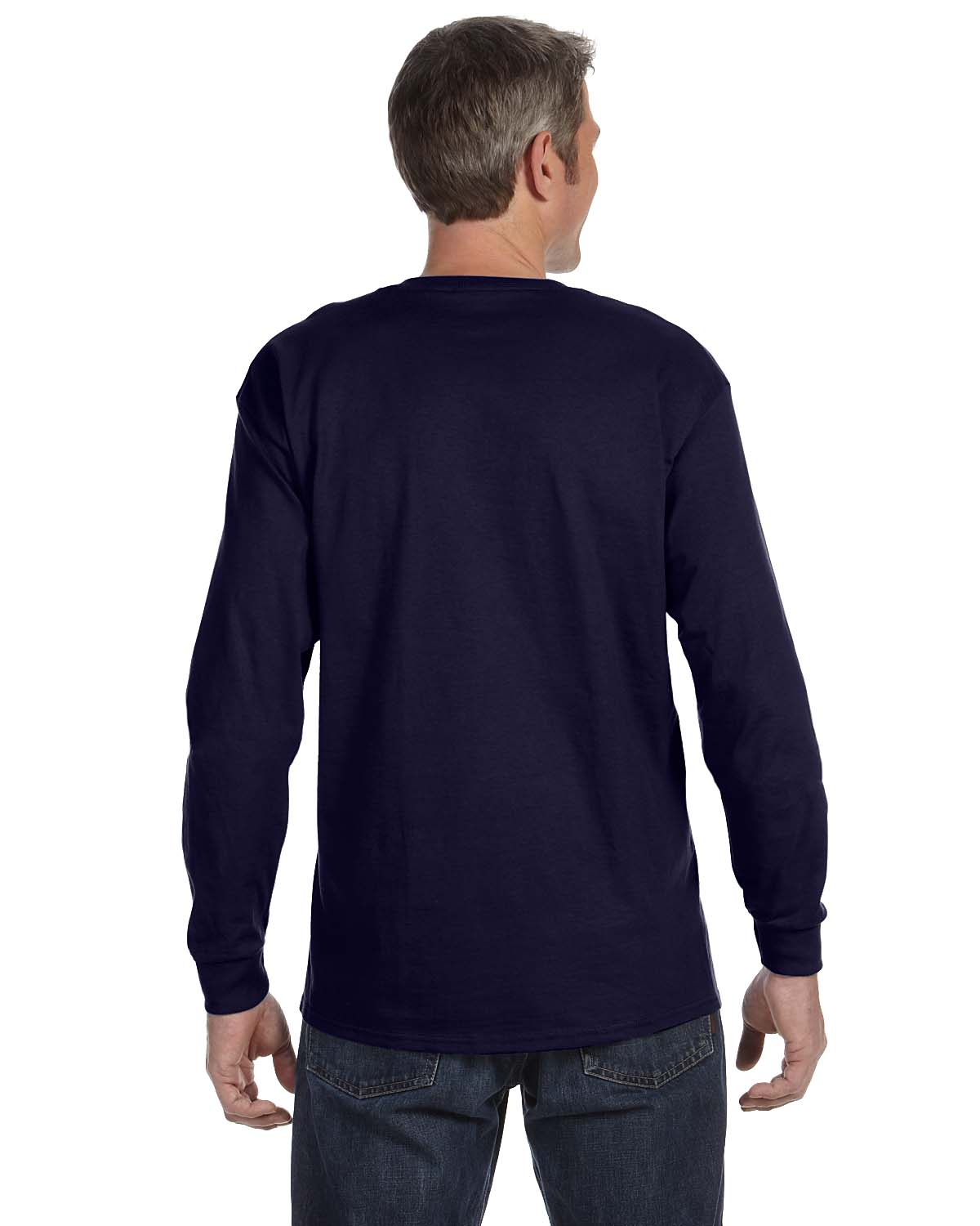 Gildan-Mens-T-Shirt-Long-Sleeve-Heavy-Cotton-5-3-oz-S-XL-R-G540-5400 thumbnail 35