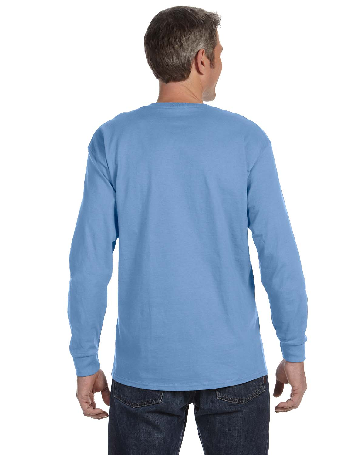 Gildan-Mens-T-Shirt-Long-Sleeve-Heavy-Cotton-5-3-oz-S-XL-R-G540-5400 thumbnail 14