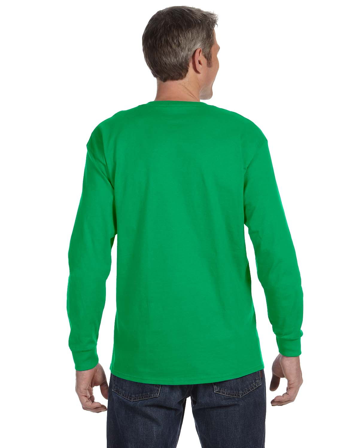 Gildan-Mens-T-Shirt-Long-Sleeve-Heavy-Cotton-5-3-oz-S-XL-R-G540-5400 thumbnail 29