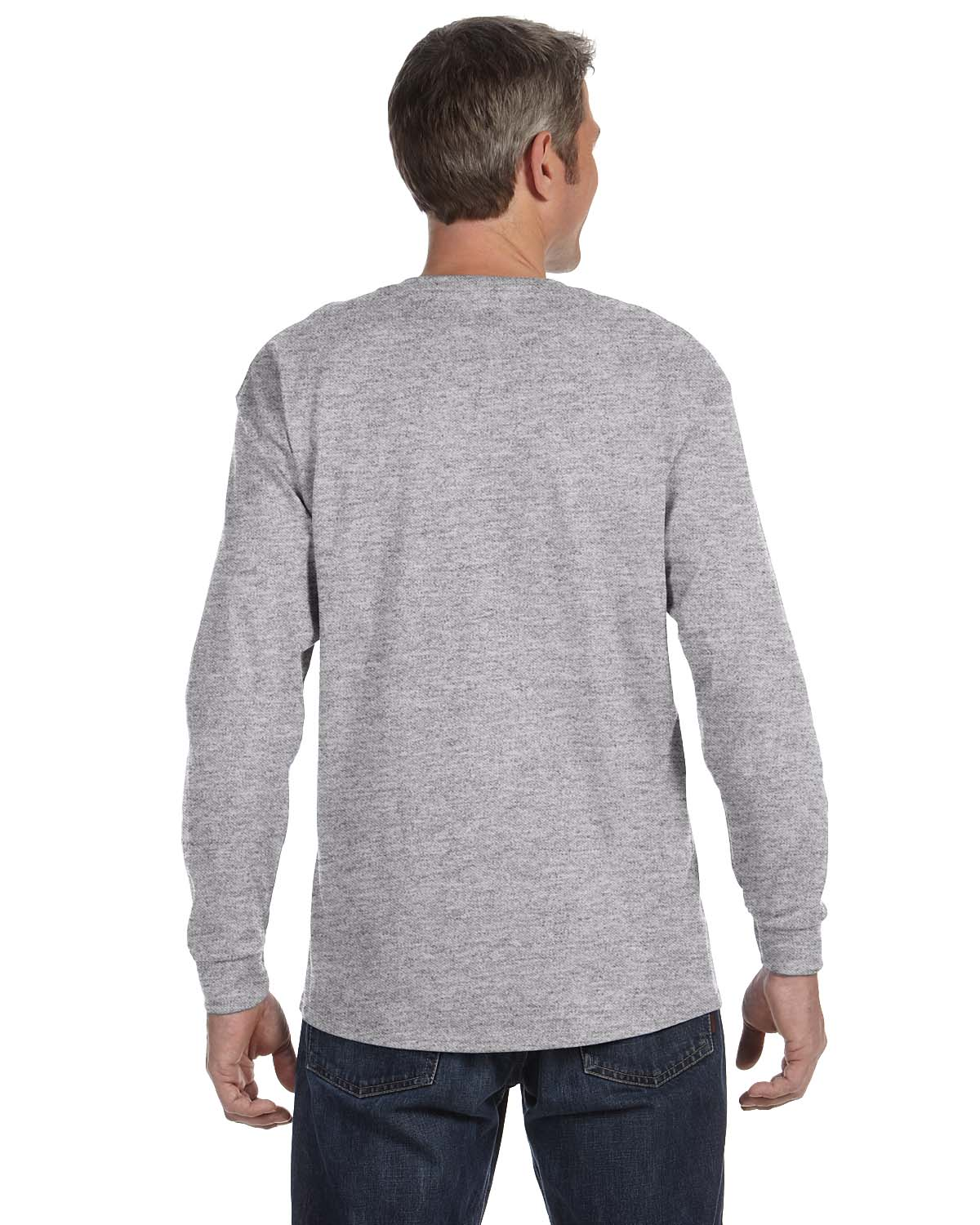 Gildan-Mens-T-Shirt-Long-Sleeve-Heavy-Cotton-5-3-oz-S-XL-R-G540-5400 thumbnail 53