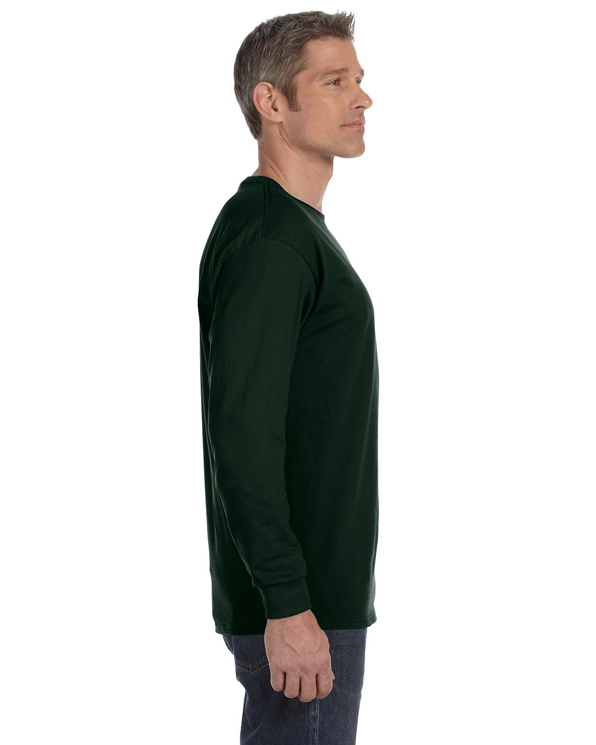 Gildan-Mens-T-Shirt-Long-Sleeve-Heavy-Cotton-5-3-oz-S-XL-R-G540-5400 thumbnail 18