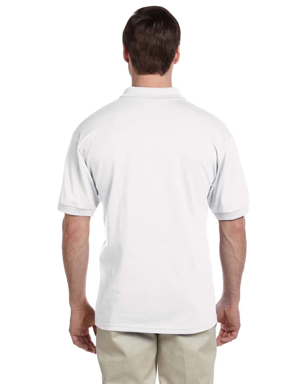 Gildan-Mens-Polo-Shirt-Moisture-Wicking-DryBlend-Jersey-S-XL-R-G880 thumbnail 49