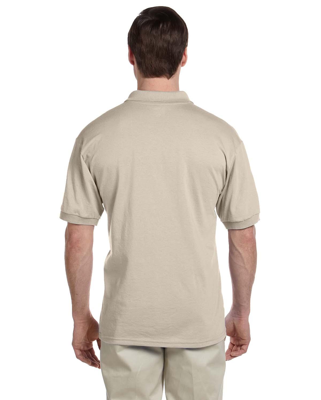 Gildan-Mens-Polo-Shirt-Moisture-Wicking-DryBlend-Jersey-S-XL-R-G880 thumbnail 40