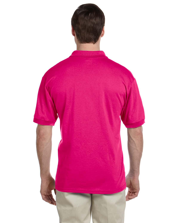 Gildan-Mens-Polo-Shirt-Moisture-Wicking-DryBlend-Jersey-S-XL-R-G880 thumbnail 16