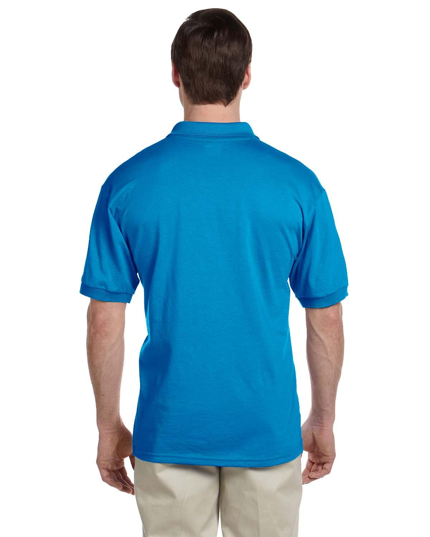 Gildan-Mens-Polo-Shirt-Moisture-Wicking-DryBlend-Jersey-S-XL-R-G880 thumbnail 43