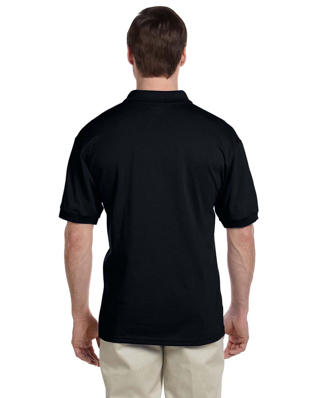 Gildan-Mens-Polo-Shirt-Moisture-Wicking-DryBlend-Jersey-S-XL-R-G880 thumbnail 7