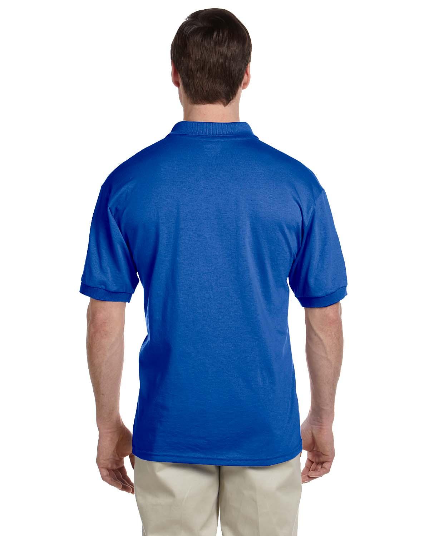 Gildan-Mens-Polo-Shirt-Moisture-Wicking-DryBlend-Jersey-S-XL-R-G880 thumbnail 37