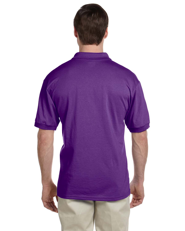 Gildan-Mens-Polo-Shirt-Moisture-Wicking-DryBlend-Jersey-S-XL-R-G880 thumbnail 31