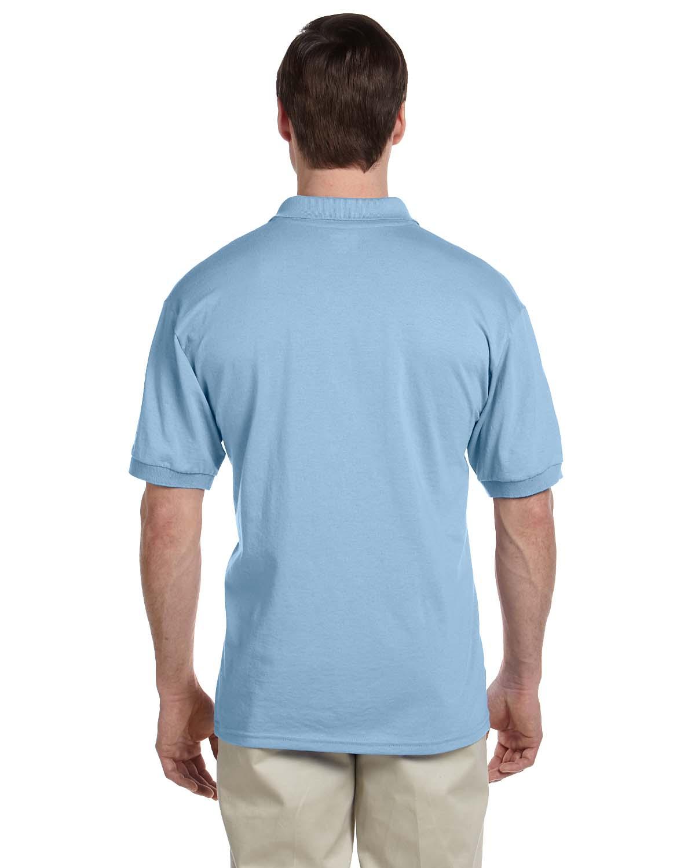 Gildan-Mens-Polo-Shirt-Moisture-Wicking-DryBlend-Jersey-S-XL-R-G880 thumbnail 19