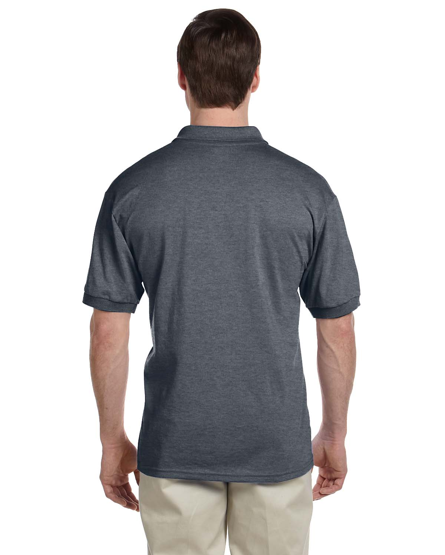 Gildan-Mens-Polo-Shirt-Moisture-Wicking-DryBlend-Jersey-S-XL-R-G880 thumbnail 55