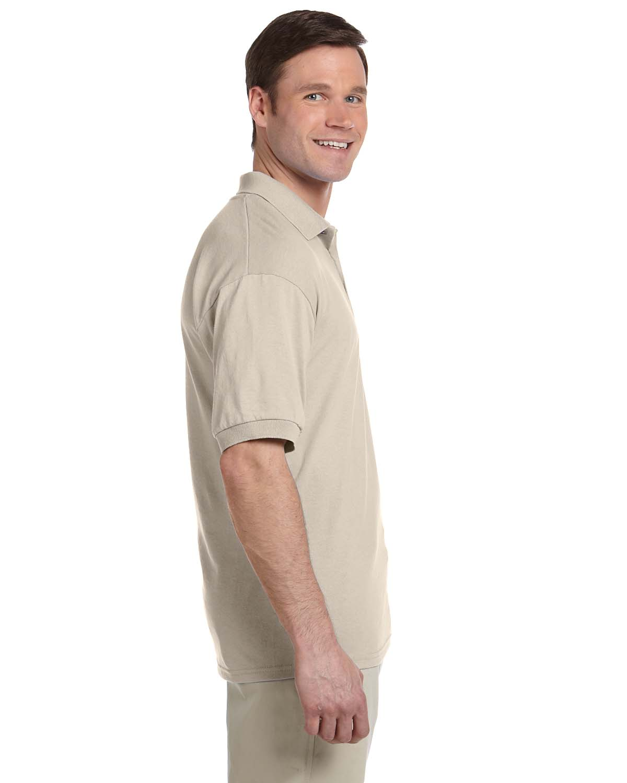 Gildan-Mens-Polo-Shirt-Moisture-Wicking-DryBlend-Jersey-S-XL-R-G880 thumbnail 39