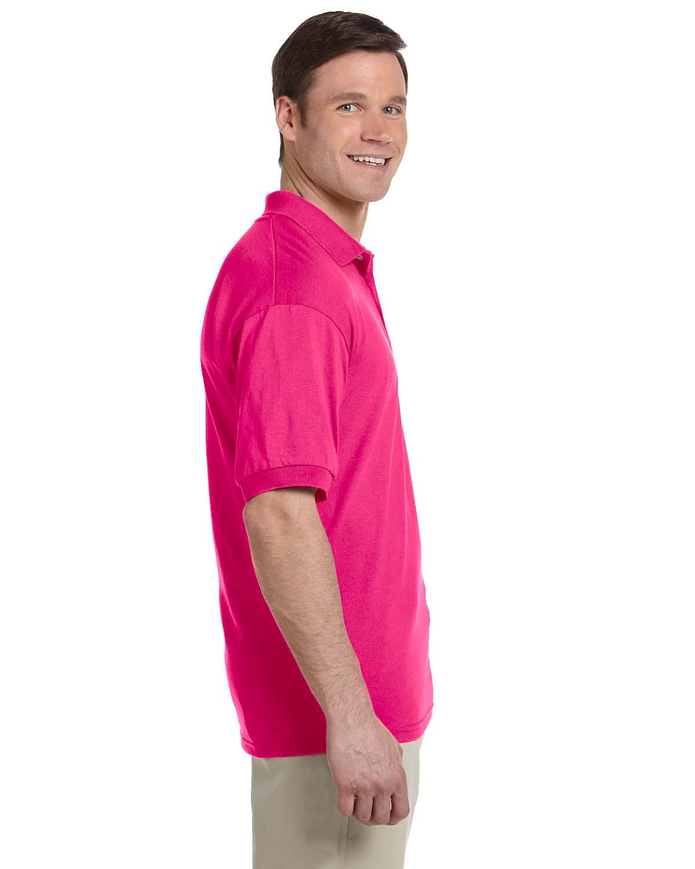 Gildan-Mens-Polo-Shirt-Moisture-Wicking-DryBlend-Jersey-S-XL-R-G880 thumbnail 15