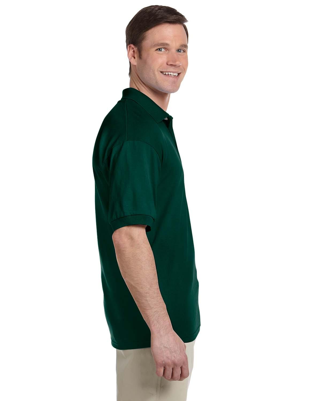 Gildan-Mens-Polo-Shirt-Moisture-Wicking-DryBlend-Jersey-S-XL-R-G880 thumbnail 12