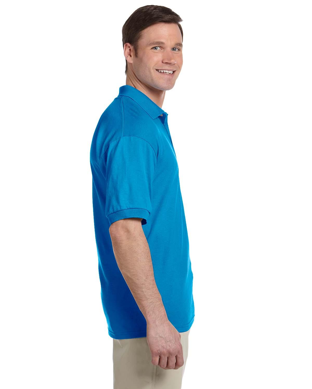 Gildan-Mens-Polo-Shirt-Moisture-Wicking-DryBlend-Jersey-S-XL-R-G880 thumbnail 42