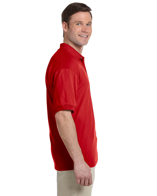 Gildan-Mens-Polo-Shirt-Moisture-Wicking-DryBlend-Jersey-S-XL-R-G880 thumbnail 33