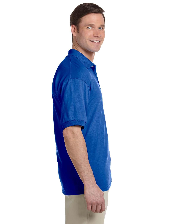 Gildan-Mens-Polo-Shirt-Moisture-Wicking-DryBlend-Jersey-S-XL-R-G880 thumbnail 36