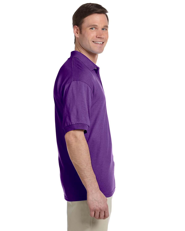 Gildan-Mens-Polo-Shirt-Moisture-Wicking-DryBlend-Jersey-S-XL-R-G880 thumbnail 30