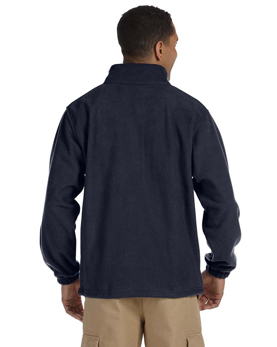 Harriton-Jacket-Men-039-s-8-oz-Full-Zip-Fleece-Solid-S-XL-R-M990 thumbnail 18