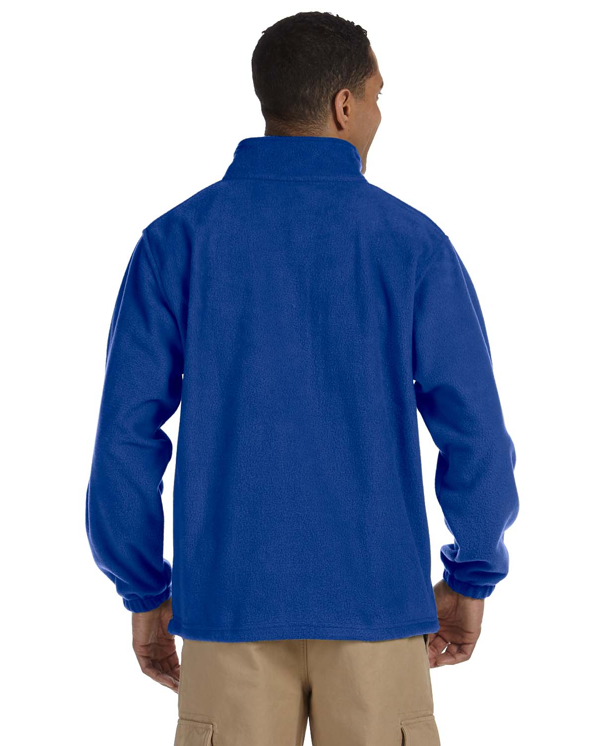 Harriton-Jacket-Men-039-s-8-oz-Full-Zip-Fleece-Solid-S-XL-R-M990 thumbnail 30