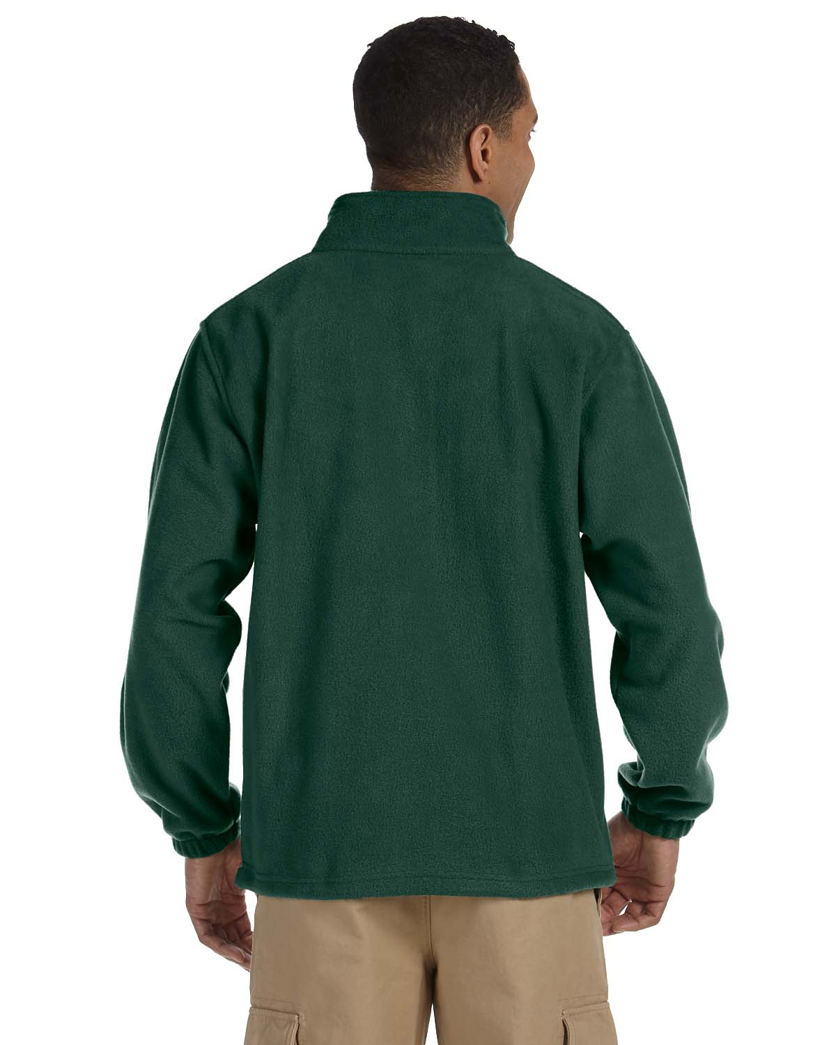 Harriton-Jacket-Men-039-s-8-oz-Full-Zip-Fleece-Solid-S-XL-R-M990 thumbnail 15
